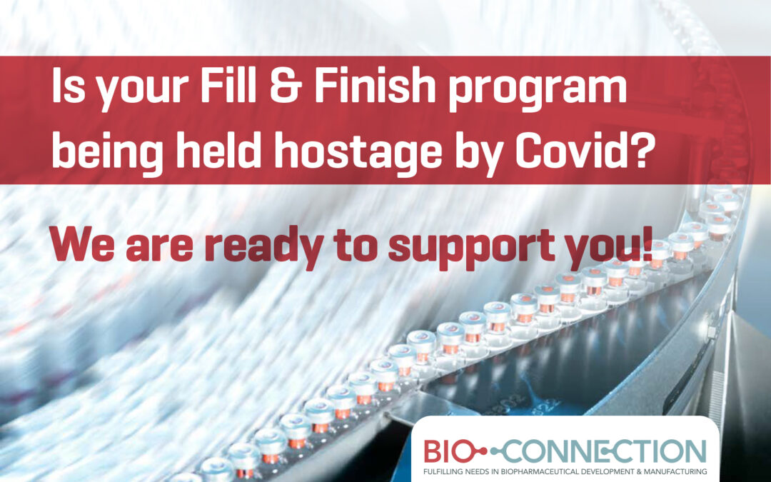 BioConnection ensures your clinical and commercial supply line for steriles, even in pandemic times